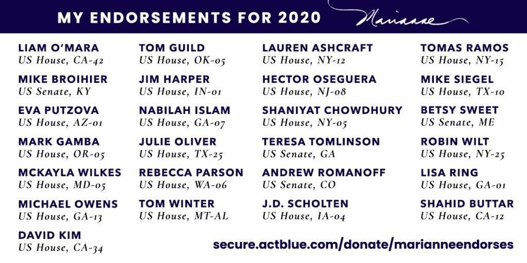 Williamson Endorsements